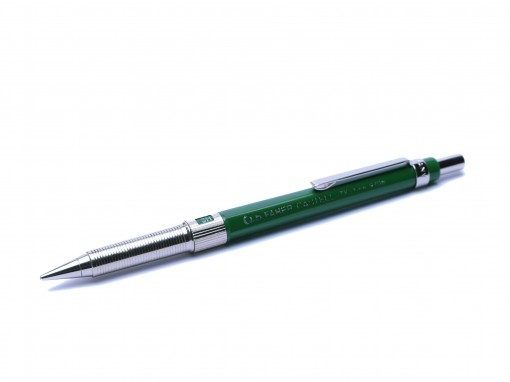 1970's 0.5mm Faber Castell TK Fine 9705 Germany Green H/2H/3H/4H/B/HB Knurled Mechanical Pencil