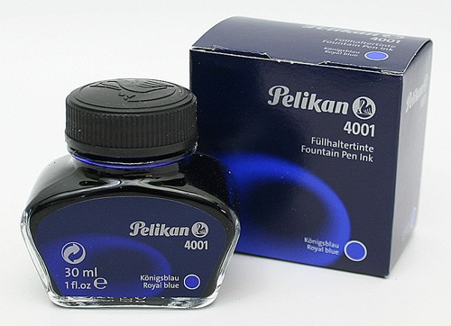 New Pelikan 4001 30ml 1oz Royal Blue Fountain Pen Ink Made In Germany