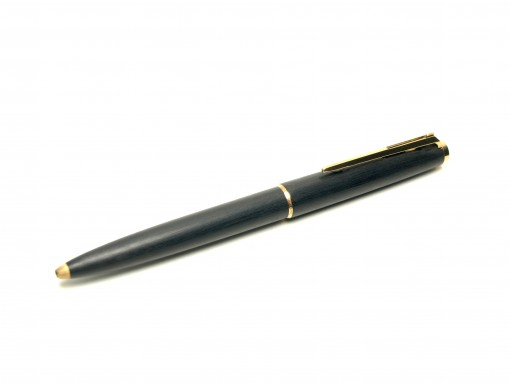 "1960s MONTBLANC No.280 Brushed Grey Lever Mechanism 11th ""Eleventh Finger"" Ballpoint Pen"