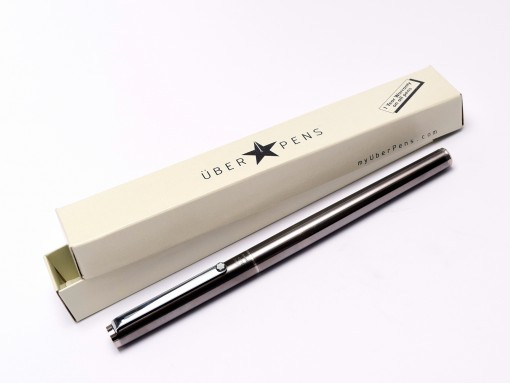 MONTBLANC Noblesse Oblige Anodized Black-Grey Matte Steel Soft F/B Steel Nib Cartridge\Converter Fountain Pen