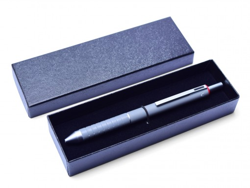 Rotring Essential Taupe TP Trio Multi Function Mechanical Pencil 0.7mm Ballpoint & Data Pen