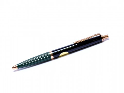 1960s Reform No.620 Germany High Quality Black & Green Special Push Button Ballpoint Pen