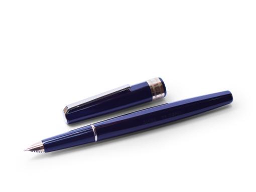 Hexagon OMAS 71 SUPER Black Resin 14KFlexible Nib Fountain Pen