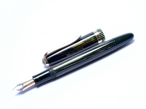 Faber Castell Osmia 883 EF Tortoise Green Celluloid Fountain Pen