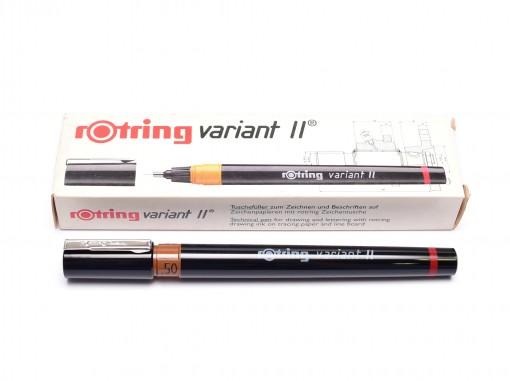 NOS Vintage Rotring Variant II Stainless Steel Tip Technical Pen Made in Germany