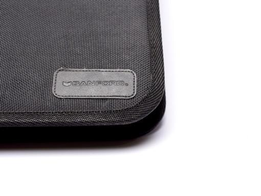 Rare Sanford 36 Slots High Quality Black Hard Cover Zipper Pouch Fountain Ballpoint Rollerball Pen Pencil Case Holder/Folder