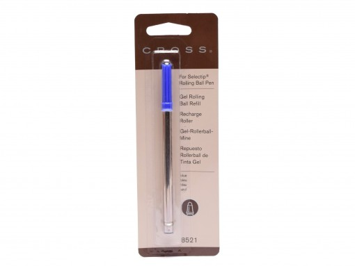New Authentic CROSS 8521 Standard M Medium Blue 1 Per Card Proprietary Selectip Gel Rollerball Refill 073228085210 0712
