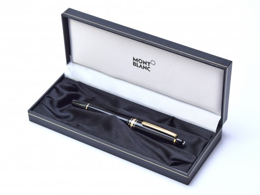MONTBLANC Classic 2 Pen Fountain Ballpoint Display Gift Presentation Box Case