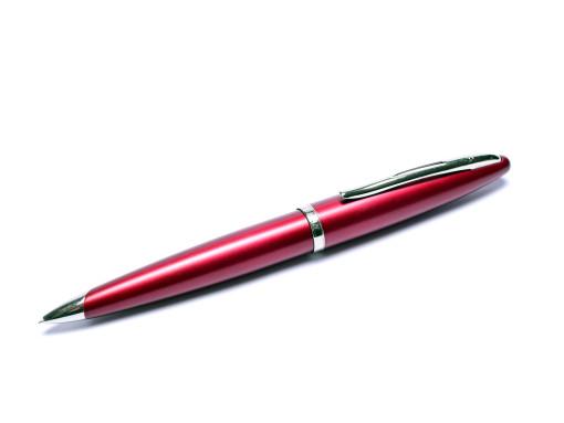 Waterman Carene/CARÈNE Matt Maroon Burgundy Red Palladium Plated 0.5mm Twist Mechanical Pencil Made in France