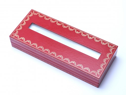 New CARTIER Diabolo Ballpoint Pen Retail Gift Display Presentation Case Box with Window