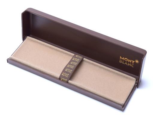Vintage 60's MONTBLANC 1-3 Pen Fountain Ballpoint Brown Display Gift Box Case