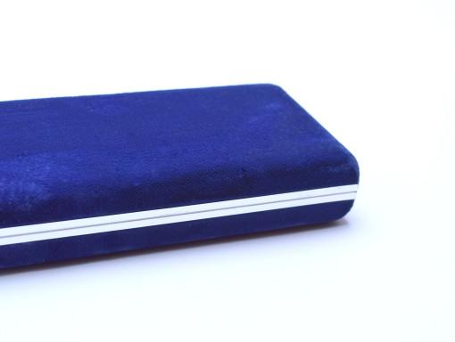 Vintage 70's Caran d'Ache Ecridor 1-2 Fountain Ballpoint Pen Display Presentation Velvet Case Box