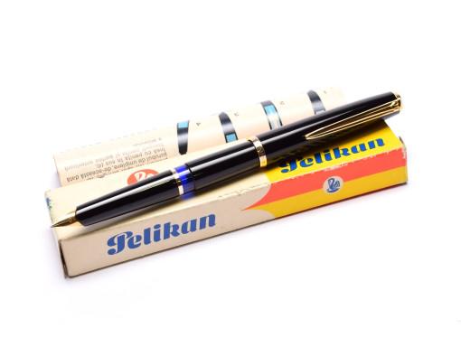 Pelikan MK10 Airplane Safe Black Resin F Fine Nib Fountain Pen