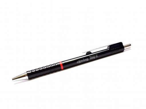 Rotring Tikky II Jumbo Refill Wave Grip Black Color Ballpoint Pen