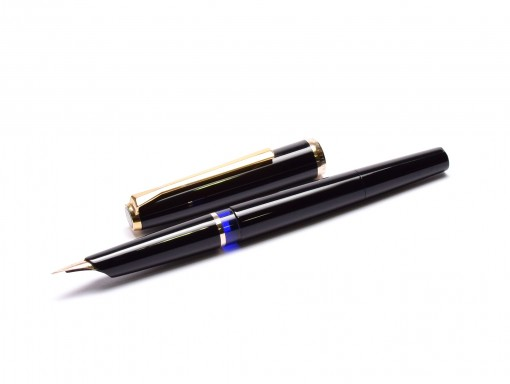 Vintage 1960s Pelikan Rolled Gold (M30) 14K 585 Gold EF Flexible Nib Airplane Safe Fountain Pen