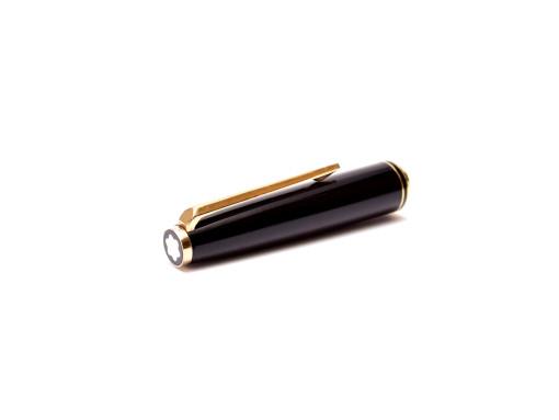 Vintage Montblanc No.221 Fountain Pen Cap Clip & Cap Top Emblem Part Spare Repair