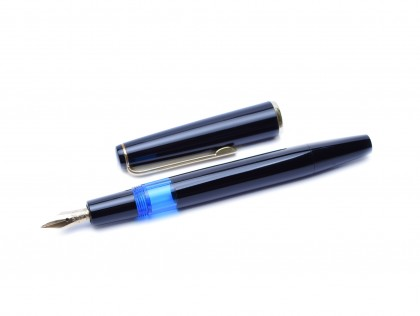 1965 Kaweco 475 Transparent Fully Flexible F to BB 14K Gold Nib Piston Filling Fountain Pen