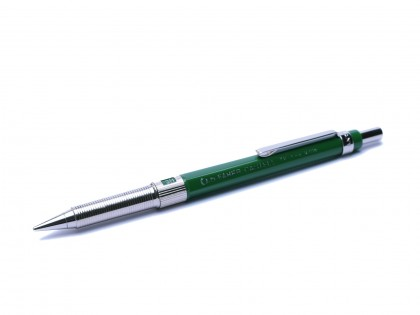 1980s 0.5mm Faber Castell TK Fine 9705 Germany Green H/2H/3H/4H/B/HB Knurled Mechanical Pencil
