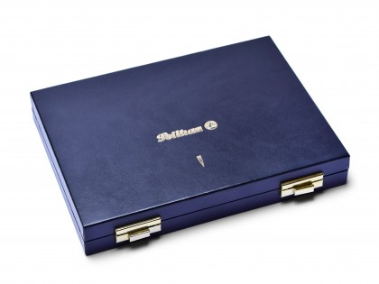 1980s Rare Pelikan Luxury Collector's Hard Box Case Tray for 10 Pens