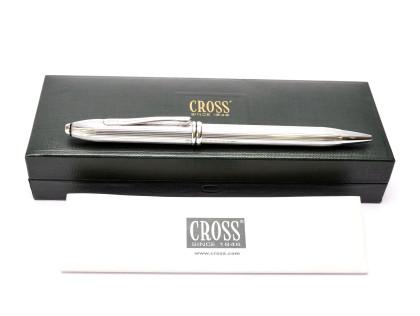CROSS Townsend 652 Sterling Silver 925 Oversize Ballpoint Pen Made in Ireland in Box