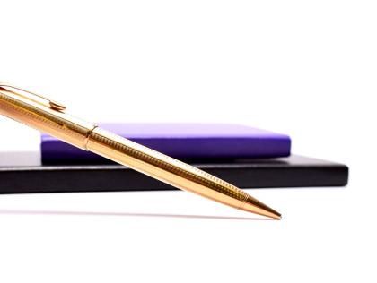 Parker Sonnet Cascade 18K Gold Plate Twist Mechanism 0,5 Leads Mechanical Pencil
