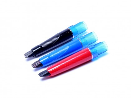 Pelikan Pelikano Fountain Pen Front Section Unit Part Red Blue or Black (M MK P Lines)
