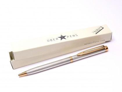 WATERMAN Gentleman Solid Sterling 925 ballpoint pen