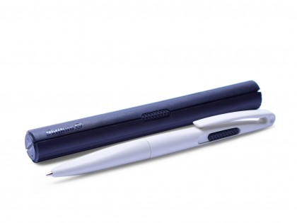 NOS White Pelikan No.1 Luigi Colani Design Designer 0.5mm Leads Mechanical Pencil in Black Case