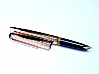 1960's Solid 585 Gold MONTBLANC 94 Meisterstuck Masterpiece Oversize 18K BB Nib Fountain Pen