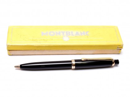 Vintage 1950s Rare NOS in BOX Montblanc Pix No.376 1.18mm Lead Black Resin Push Button Repeater Mechanical Pencil