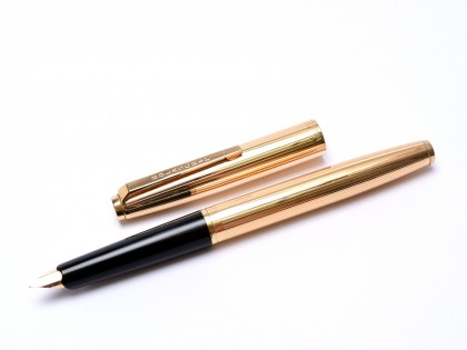 BOLASCRIP Germany Walzgold Doublee Rolled Gold 14K Fountain Pen