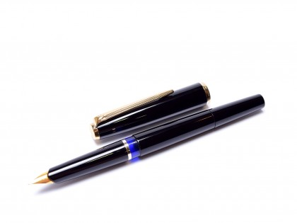 All black Pelikan MK10 fountain pen
