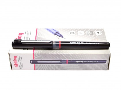 NEW Rotring Tikky Rollerpoint F Fine Point Tip Black Free Ink Fineliner Pen