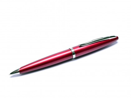 Waterman Carene/CARÈNE Matt Maroon Burgundy Red Palladium Plated 0.5mm Twist Mechanical Pencil Made in France