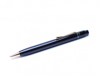Rare 1934 Pelikan 200 (100)  Black Hard Rubber & Gold AUCH GERMANIA Mechanical Pencil 1.18mm Lead