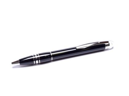 Classic Montblanc STARWALKER Precious Black Resin & Platinum Trim Twist Ballpoint Pen