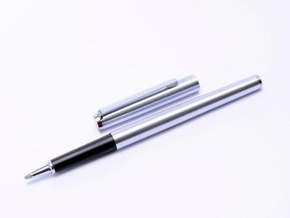 1980s MONTBLANC Noblesse Oblige Quickpen Roller Matte Steel  Rollerball Pen