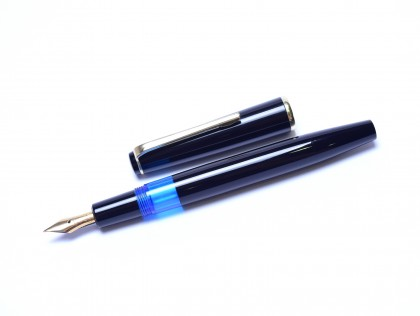 1965 Kaweco 475 Transparent F Fine Ber Contra Nib Flexible F to BB Nib Piston Filling Fountain Pen