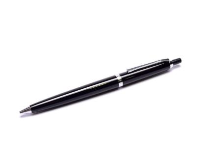 Pelikan 20 Push Button Black Resin & Chrome Ballpoint Pen