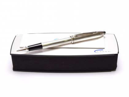 CROSS Townsend 655 Sterling Silver Oversize Rollerball Pen Made in Ireland