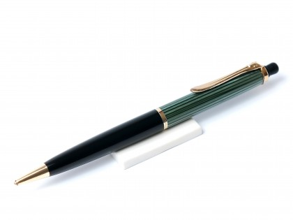 Original 1950s Pelikan 350 Tortoise Green & Gold Repeater Mechanical Pencil 1.18mm Lead