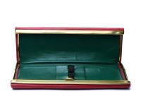 Reform Triangular Burgundy Red Super Flex Fountain 4383 & Ballpoint 605 Pen Set in Leather Pouch