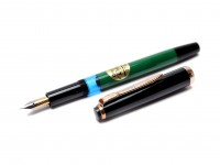Reform 1745 Black Green Germany Fountain Pen