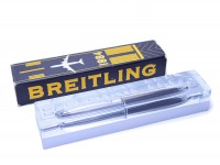 BREITLING 1884 LIMITED EDITION TIGER'S EYE Tortoise BROWN & STEEL BALLPOINT PEN