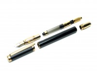 DIPLOMAT 18K Nib Black Lacquer Fountain Pen