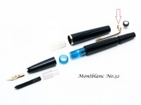 Vintage Montblanc No. 22 & 32 Fountain Pen Clip Part Spare Repair