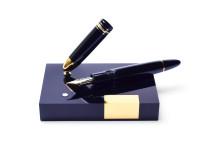 1980 MONTBLANC 149 Desk Base Stand Masterpiece Meisterstuck Fountain Pen