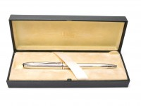 CROSS Townsend 652 Sterling Silver 925 Oversize Ballpoint Pen Made in Ireland in Box
