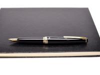 Pilot Elite S Compact Cartridge/ Converter 18K 750 Gold F Fine Nib Fountain Pen