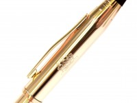 The Original Oversize 1990s CROSS Townsend Made in USA 23K Gold Plated Ballpoint Pen - Made for Philip Morris